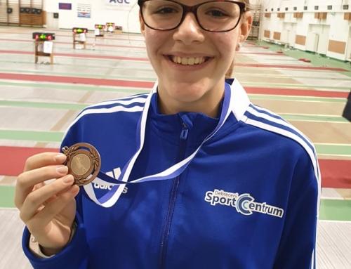 Tizennégy évesen már másodjára az elitben. A debreceni Nagy Blanka Virág a bravúros ötödik helyet szerezte meg a felnőtt párbajtőr Magyar Kupa hétvégi fordulójában.